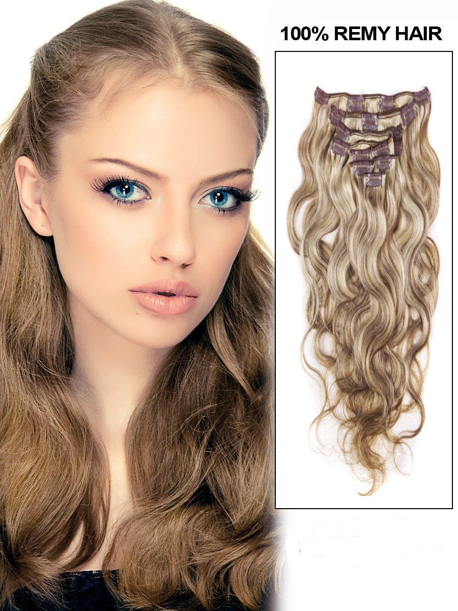 Extensions a clip blonde