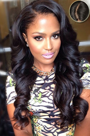 Fine 4 5 Super Deep C Side Part Pretty Long Wavy Casual Hairstyles Natural Hairstyles Runnerswayorg